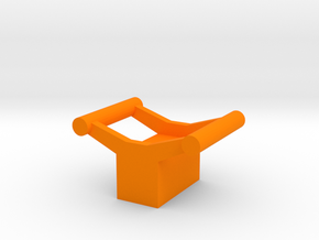 Small Rollercoaster Paperweight (B&M) in Orange Processed Versatile Plastic