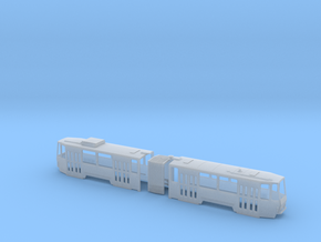 Tatra KT4D H0 [body] in Smooth Fine Detail Plastic
