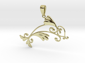 Dolphin Dreams in 18k Gold Plated Brass