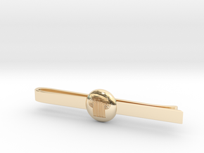 PARK WEST - MenSet01-TieClip in 14k Gold Plated Brass