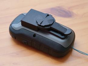 Garmin eTrex to Garmin Edge quarter turn adapter in Black PA12