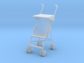 Stroller 1/72 in Smooth Fine Detail Plastic