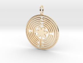 The Labyrinth in 14K Yellow Gold