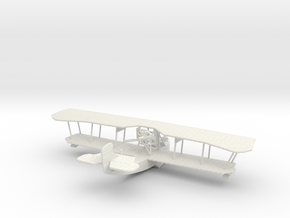 Grigorovich M-9 Flying Boat (various scales) in White Natural Versatile Plastic: 1:72