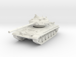 T-64 early 1/72 in White Natural Versatile Plastic