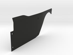 Vanquish Ripper LEFT Side Panel by SuperShafty in Black Natural Versatile Plastic