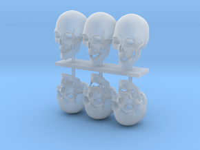 skull 1:8 26 mm in Smooth Fine Detail Plastic