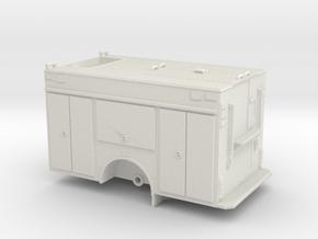 1/87 Rosenbauer Rescue Pumper Body #2 Compartment  in White Natural Versatile Plastic