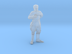 Clone Officer-1 Legion Scale in Smooth Fine Detail Plastic: 28mm
