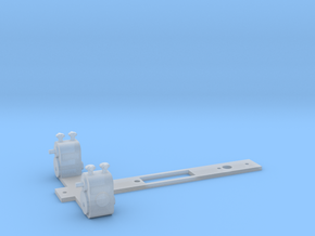 NGG13/16 Cylinders and chassis keeper plate in Smooth Fine Detail Plastic