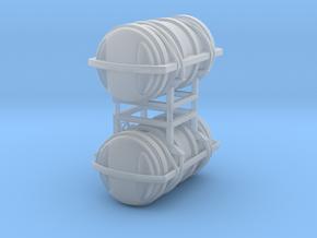 Viking liferaft 20DK - 2X - 1:25 in Smooth Fine Detail Plastic