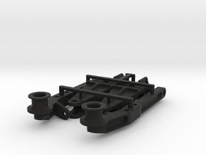 Air suspension rear axle in Black Natural Versatile Plastic