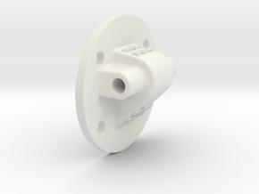 Support plate f. TomTom Rider 4xx/5xx active cradl in White Natural Versatile Plastic