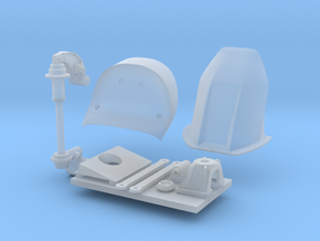 RC211V Parts in Smooth Fine Detail Plastic