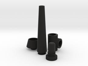 All parts in Black Natural Versatile Plastic