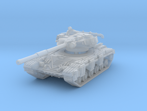 T-64 A (early) 1/144 in Smooth Fine Detail Plastic