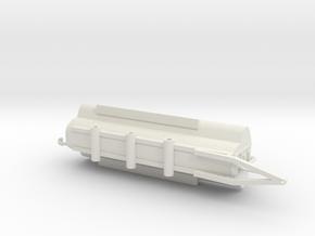 Jamesway Autotrac 7400 gallon manure spreader in White Natural Versatile Plastic