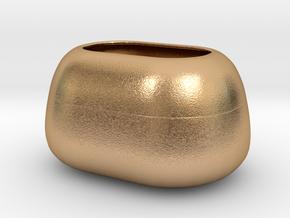 Modern Miniature 1:24 Vase  in Natural Bronze: 1:24