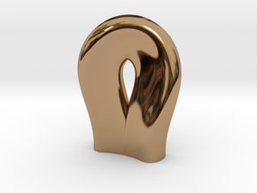 Vase A in Polished Brass