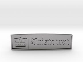 International Harvester Scout Aristocrat Emblem in Polished Nickel Steel