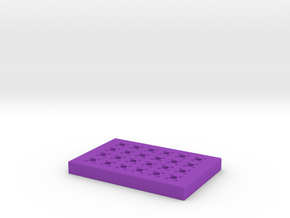 Magnetic Concentrator For 96-Well Plates in Purple Strong & Flexible Polished
