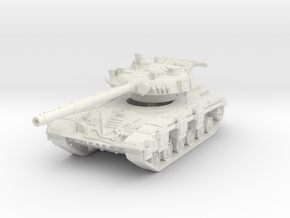 T-64 A (late) 1/87 in White Natural Versatile Plastic