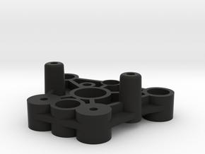 Tamiya Wild Willy Front Bulkhead in Black Natural Versatile Plastic