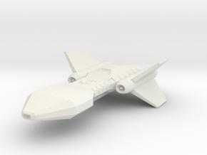 FIGHTER STARCRAFT in White Natural Versatile Plastic