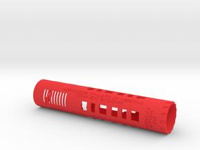 MPP Main body, CFX, Proffie, Verso, GH. in Red Processed Versatile Plastic
