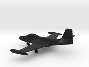 McDonnell F2H-2 Banshee in Black Natural Versatile Plastic: 1:200