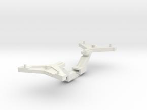 Heljan NEM schacht kortkoppeling. in White Natural Versatile Plastic