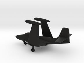 McDonnell F2H-2 Banshee (folded wings) in Black Natural Versatile Plastic: 1:200