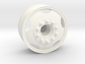 THM 80.301088 Front rim Peterbilt 281 in White Processed Versatile Plastic