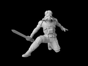 "(Legion) Luke Starkiller ""Concept Art"" in Smooth Fine Detail Plastic"