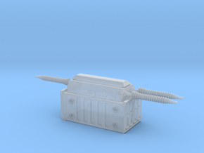Electrical Transformer 1/200 in Smooth Fine Detail Plastic