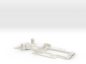 Carrera Digital 132 Chassis for NSR Formula 86/89 in White Natural Versatile Plastic