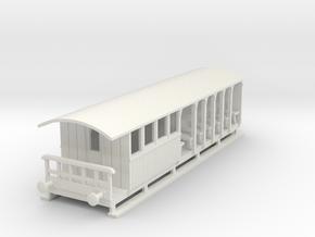 o-76-corringham-toastrack-composite-coach in White Natural Versatile Plastic