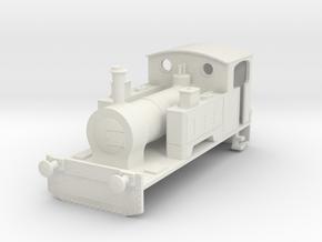 b-87-kerr-stuart-waterloo-loco in White Natural Versatile Plastic