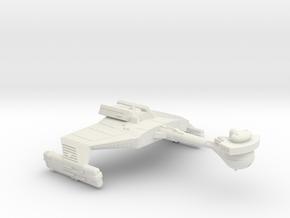 3788 Scale Klingon D5LK War Cruiser Leader WEM in White Natural Versatile Plastic