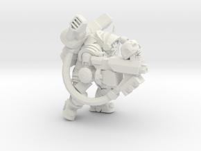 Character Series: Chaos Astronaut Gunner in White Natural Versatile Plastic