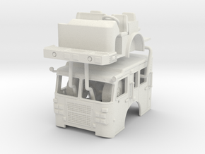 1/87 2015 Detroit Smeal Cab in White Natural Versatile Plastic