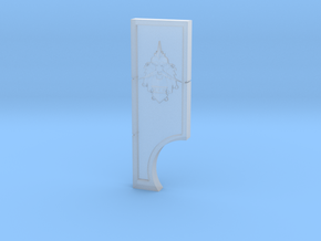 Dwarf God of War Measuring Device in Smooth Fine Detail Plastic