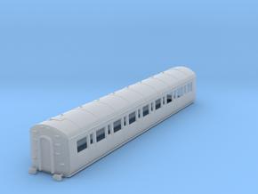 o-148fs-gwr-c54-third-class-coach in Smooth Fine Detail Plastic
