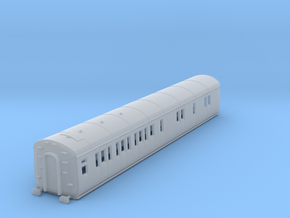 o-148fs-gwr-d94-lh-brake-3rd-coach in Smooth Fine Detail Plastic