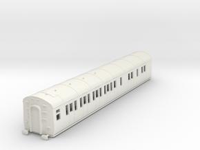 o-76-gwr-d95-lh-brake-3rd-coach in White Natural Versatile Plastic