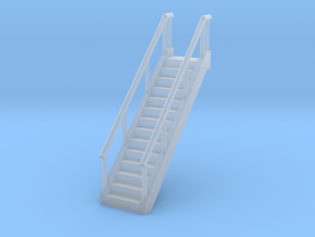 Stairs 1/120 in Smooth Fine Detail Plastic