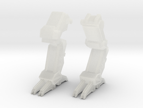 C-SAV-0 Savitri Legs - walking in Smooth Fine Detail Plastic