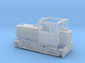 Wangerooger Inselbahn Schöma CFL 150 DCL in Smooth Fine Detail Plastic: 1:120 - TT