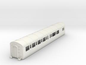 o-32-gwr-e128-rh-brake-comp-coach in White Natural Versatile Plastic