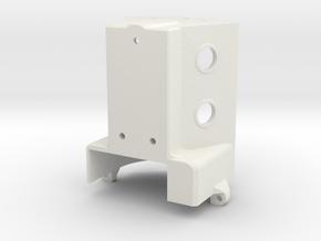 TF2 VFD Scale V8 Engine - Engine Block in White Natural Versatile Plastic